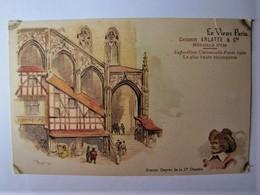"""LE VIEUX PARIS - Lot De 15 Cartes émises Par """"Chicorée ARLATTE"""" à L'occasion De L'Exposition De 1900 - 5 - 99 Postcards"""
