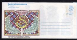 GREAT BRITAIN GRAN BRETAGNA 1982 TROIMH'N PHOST - ADHAIR AEROGRAMME AEROGRAM AIR LETTER UNUSED NUOVO - Interi Postali