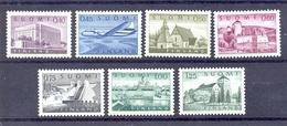 Finland, 1963, Freimarken Mi.562x-568x, Postfrisch (8530E) - Finland