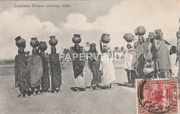 Sudan  Sudanese Women Carrying Water Su 787 - Sudan