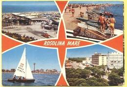 ITALIA - ITALY - ITALIE - 1974 - 40 Siracusana - Rosolina Mare, Rosa Pineta - Multiviews - Viaggiata Da Rosolina Mare Pe - Italia