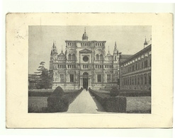 1956 - Italia - Cartolina Certosa Di Pavia     14/19 - Pavia