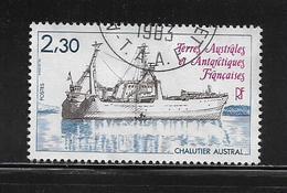 T.A.A.F.  ( TA8 - 42 )   1982  N° YVERT ET TELLIER  N° 100 - Tierras Australes Y Antárticas Francesas (TAAF)