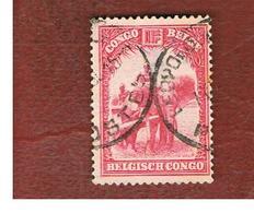 CONGO BELGA (BELGIAN CONGO) - SG 189  - 1931 ANIMALS: AFRICAN ELEPHANT   - USED ° - Congo Belga