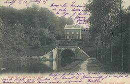 Seneffe L' Entré Du Tunnel  Timbrée 1905 Vers Mr De Boissieu Chateau De La Foret Toulon Sur Allier - Seneffe