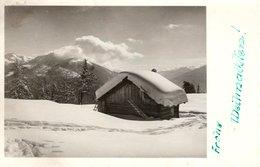 Frohe Weihnachten - Winterlandschaft 1942 Solbad Hall Felspost - Art. Schischule Dachstein - Weihnachten