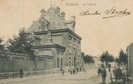 Vilvorde La Caserne  Edit Hoffmann Dresde Timbrée 1901 Vers Bucuresti Romania - Vilvoorde