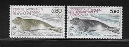 T.A.A.F.  ( TA8 - 55 )   1984  N° YVERT ET TELLIER  N° 107/108 - Tierras Australes Y Antárticas Francesas (TAAF)