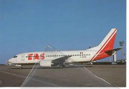 EAS Executiv Airlines Service Nigeria B737 GF-UBI At Paris  B-737 - 1946-....: Era Moderna