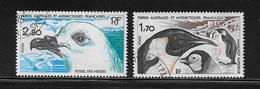 T.A.A.F.  ( TA8 - 65 )   1985  N° YVERT ET TELLIER  N° 109/110 - Tierras Australes Y Antárticas Francesas (TAAF)
