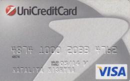 UKRAINE.  Bank Card Ukraine. UNICREDITCARD 2014  *** - Krediet Kaarten (vervaldatum Min. 10 Jaar)