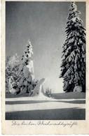 Die Besten Weihnachtsgrüße Winterlandschaft 1941 Feldpost - Weihnachten