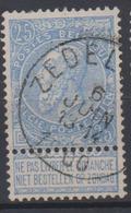 COB60 Fine Barbe ZEDELGEM - 1893-1900 Schmaler Bart