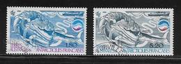 T.A.A.F.  ( TA8 - 72 )   1985  N° YVERT ET TELLIER  N° 113/114 - Tierras Australes Y Antárticas Francesas (TAAF)