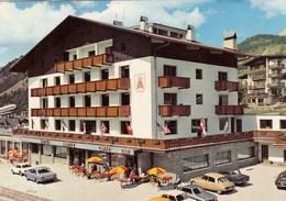 CITROEN DS-21-23-ET AUTRE AUTO-CAR-VOITURE-COCHE-HOTEL=AARITZ=SELVA VAL GARDENA-ITALIA-CARTOLINA  VIAGGIATA IL 12-3-1974 - Turismo