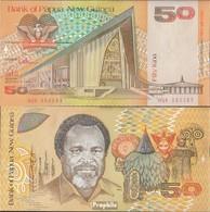 Papua-Neuguinea Pick-Nr: 11a Bankfrisch 1989 50 Kina - Papoea-Nieuw-Guinea