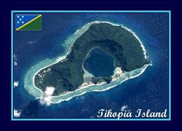 Solomon Islands Tikopia Island Aerial View New Postcard Salomonen AK - Salomoninseln