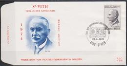 Belgien FDC 1974 Nr. 1765 Tag Der Briefmarke ( D 624) Günstige Versandkosten - 1971-80