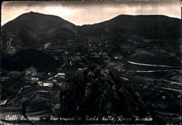 6462) Cartolina-COLLI EUGANEI-PANORAMA DI TEOLO DALLA ROCCA PENDICE-VIAGGIATA - Italia