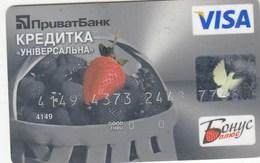 UKRAINE. Bank Card Ukraine.  PRIVATBANK  2010  *** - Krediet Kaarten (vervaldatum Min. 10 Jaar)