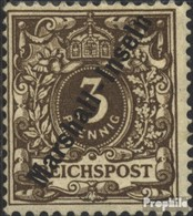 Marshall-îles (Allemand. Kol.) 7a Avec Charnière 1899 émision De Surcharge - Kolonie: Marshall-Inseln