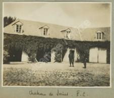 Guerre De 1914-18 . P. C. Au Château De Sains-en-Gohelle . 3 Photos . Soldats . - Guerre, Militaire