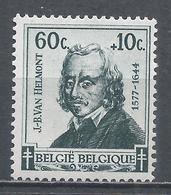 Belgium 1942. Scott #B322 (M) Jean Van Helmont - Unused Stamps