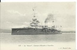 """CUIRASSE D 'ESCADRE A TOURELLES   """"  LE BOUVET  """" - Barche"""