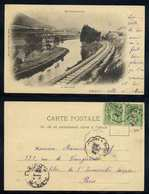 MOYENMOUTIER - GEROVILLE - VOSGES - TRAIN / 1899 CPA PRECURSEUR (ref EP202) - Etival Clairefontaine