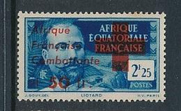 "FRANCE AEF ""FRANCE LIBRE"" MAURY 169  MINT PARAFIN GUM LITTLE RUST ROUSSEUR - A.E.F. (1936-1958)"