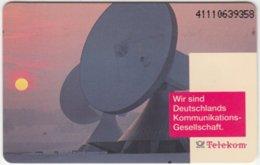 GERMANY P-Serie B-010 - 15 09.91 (4111) - Communication, Satellite Dish - Used - Deutschland