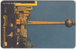 GERMANY P-Serie B-109 - 24 10.94 (1411) - Communication, Radio Tower - Used - Deutschland