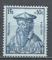 Belgium 1942. Scott #B324 (M) Gerardus Mercator - Belgique
