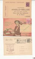 Lot De  3 Cartes Avec Publicités      2 Scan - Advertising