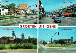 GROETEN UIT GENK-WATERSCHEI-WINTERSLAG-HOEVEZAVEL - Genk