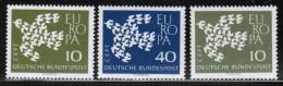 CEPT 1961 DE MI 367xy-368x  GERMANY - Europa-CEPT