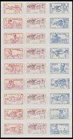 SLG. ÜBERSEE **, Französische Kolonien: 1941, Défense De L`Empire, Alle 24 Ausgaben (Afrique Équatoriale - Wallis Et Fut - Briefmarken