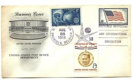 1958 - Stati Uniti - Esposizione Universale Di Bruxelles   14/61 - 1958 – Brussels (Belgium)