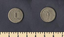 Syria 1 Piastre 1942-1945 - Syria