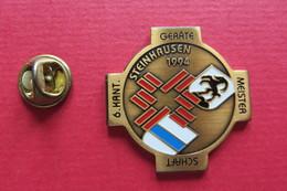 Pin's,Sport,GYMNASTIQUE,Steinhausen, 1994,Gerätemeisterschaft,Suisse - Gymnastique