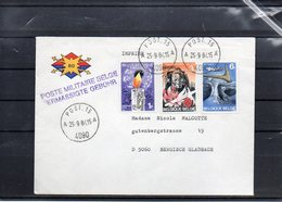 BELGIQUE - POST 15 - BPS - 1984 - UN3 - Marcophilie