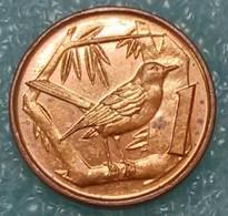 Cayman Islands 1 Cent, 1996 -1524 - Kaimaninseln