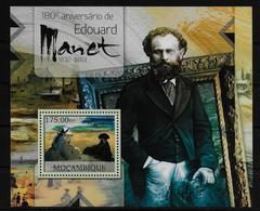 MOZAMBIQUE  BF 615  * *  ( Cote 16e ) Tableaux Edouard Manet - Künste