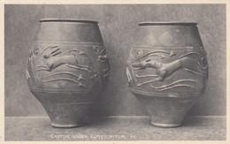 Postcard  Castor Vases Corstopitum [ Corbridge ] Roman Hadrian's Wall Interest My Ref  B13499 - Ancient World