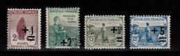 YV 162 à 165 N** 2eme Orphelins Cote 10+ Euros - Nuevos