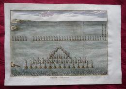 LICATA 256 A.C. ECNOMUS. BATTAGLIA TRA ROMA E CARTAGINE A COMANDO DEL CONSOLE ANNONE CONTRO AMILCARE. PIU' DI 100.000 MO - Cartes Marines
