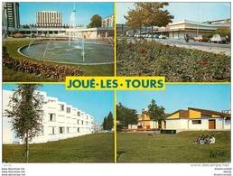 Photo Cpsm Cpm 37 JOUE-LES-TOURS. Rue De La Rabière Et Résidence Curie 1987 - Frankreich