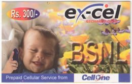 INDIA A-021 Prepaid BSNL - People, Child - Used - India
