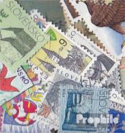 Slowakei 25 Verschiedene Marken  Ab 1993 - Slovakia