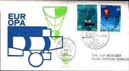 12842a)F.D.C.SERIE COMPLETA SAN MARINO   20-4-63 - FDC